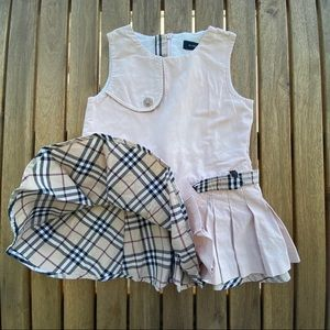 Dress Burberry sleeveless 9 / 12 months